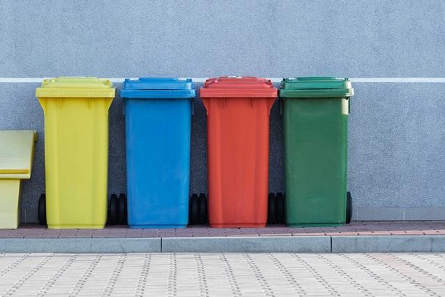 ゴミ箱、不要になったもの